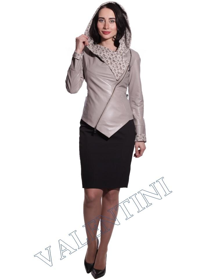 Куртка кожаная VALENTINI 016-105-1 - 4