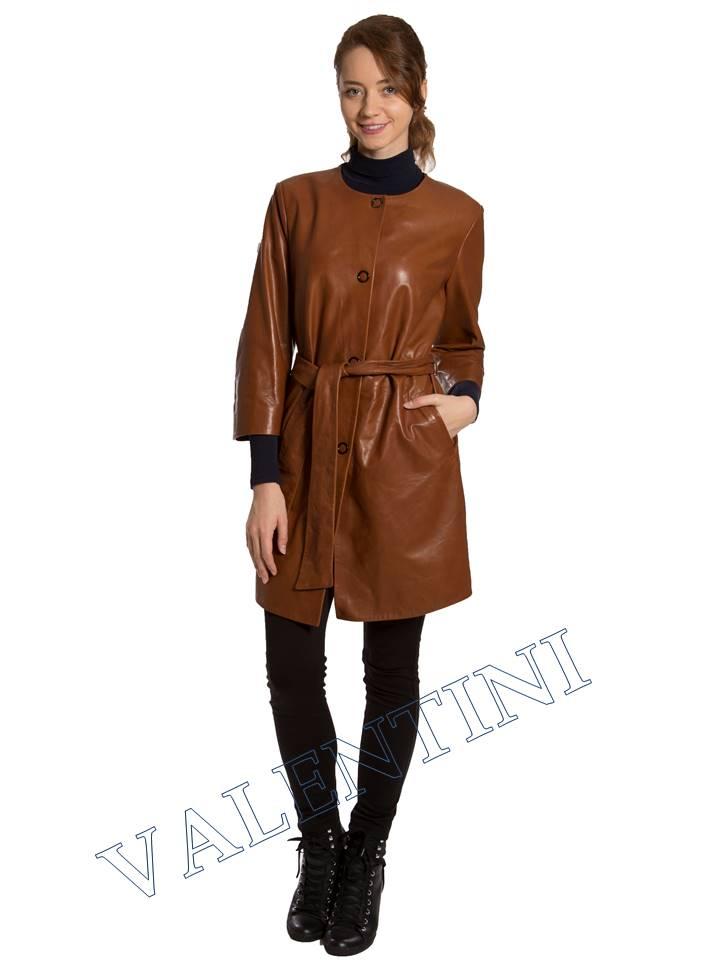 Кожаная куртка VALENTINI 017-117-1 - 2