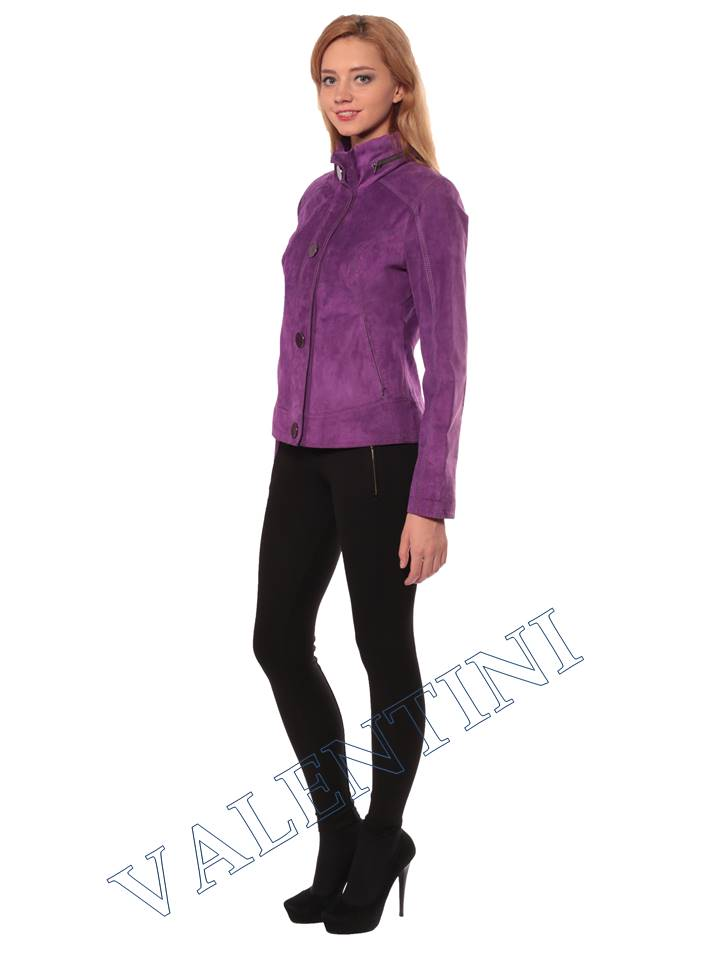Женская кожаная куртка VALENTINI 2192 - 4