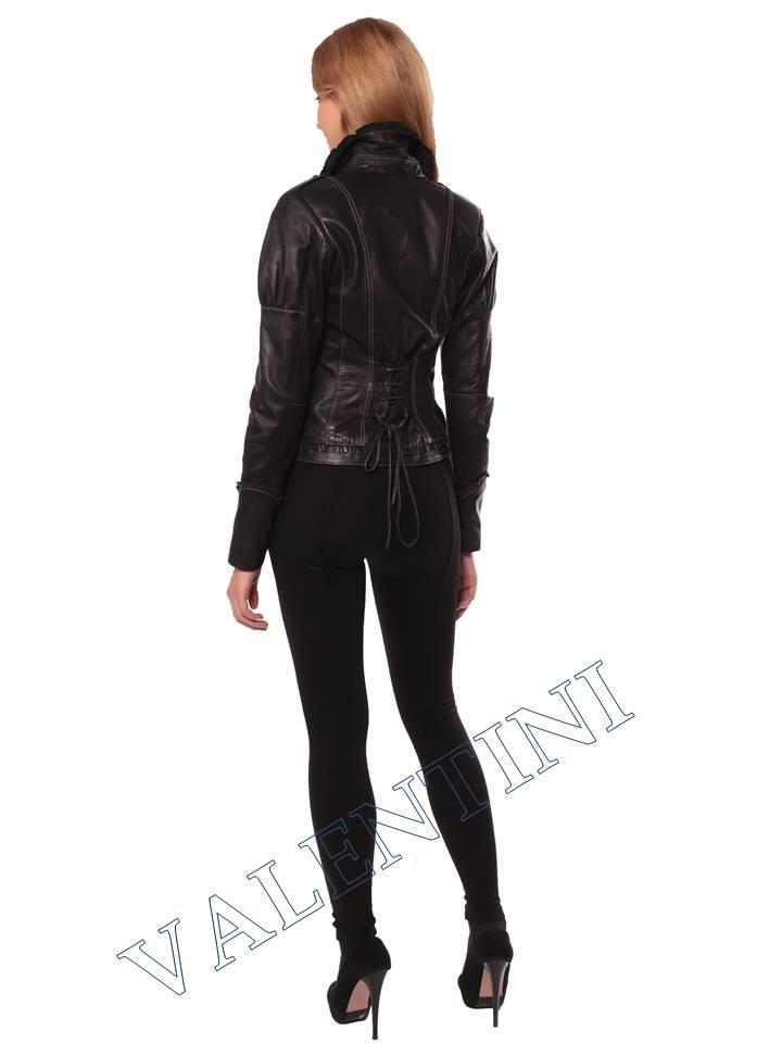 Женская кожаная куртка SUED MOD fimia - 6