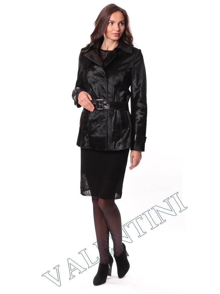Кожаная куртка из теленка VALENTINI L-30-75 - 1