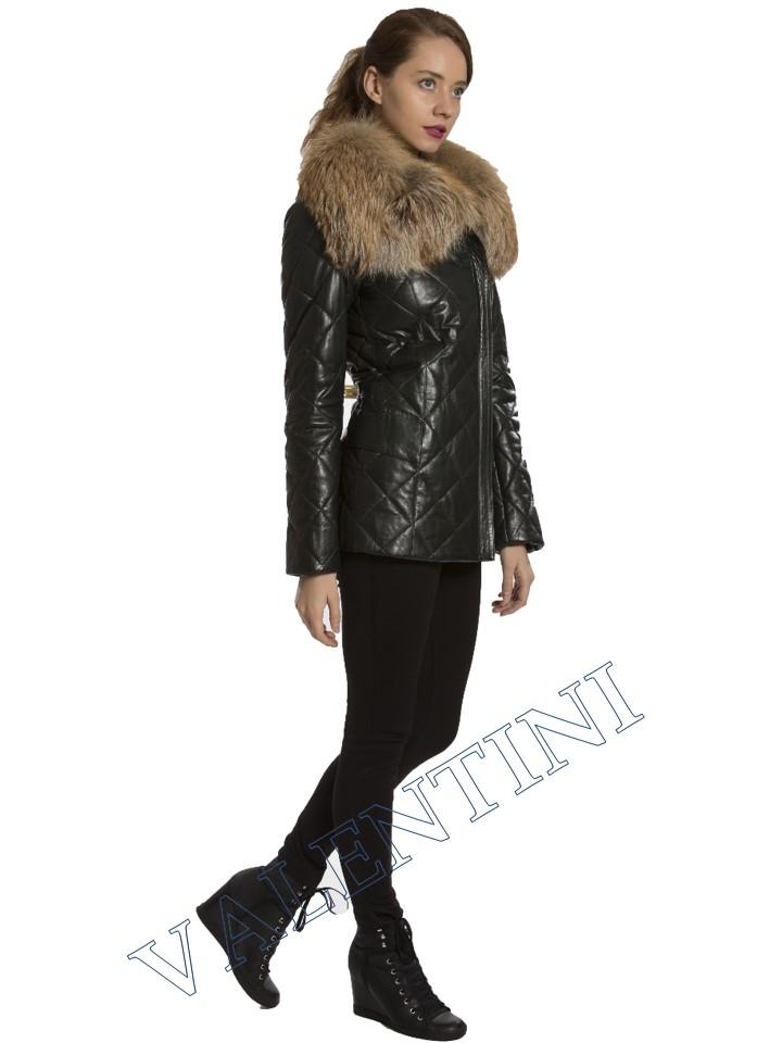 Кожаная куртка GALOPPI 5015-70 - 4
