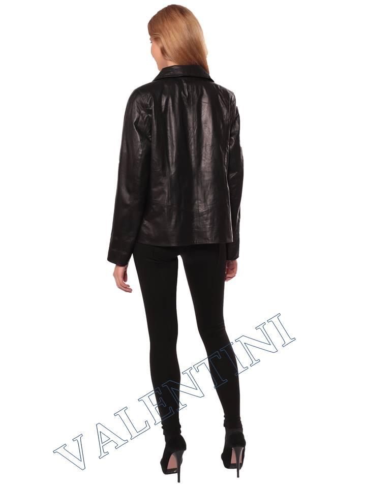 Женский кожаный пиджак STELLA DORO 14090 - 6