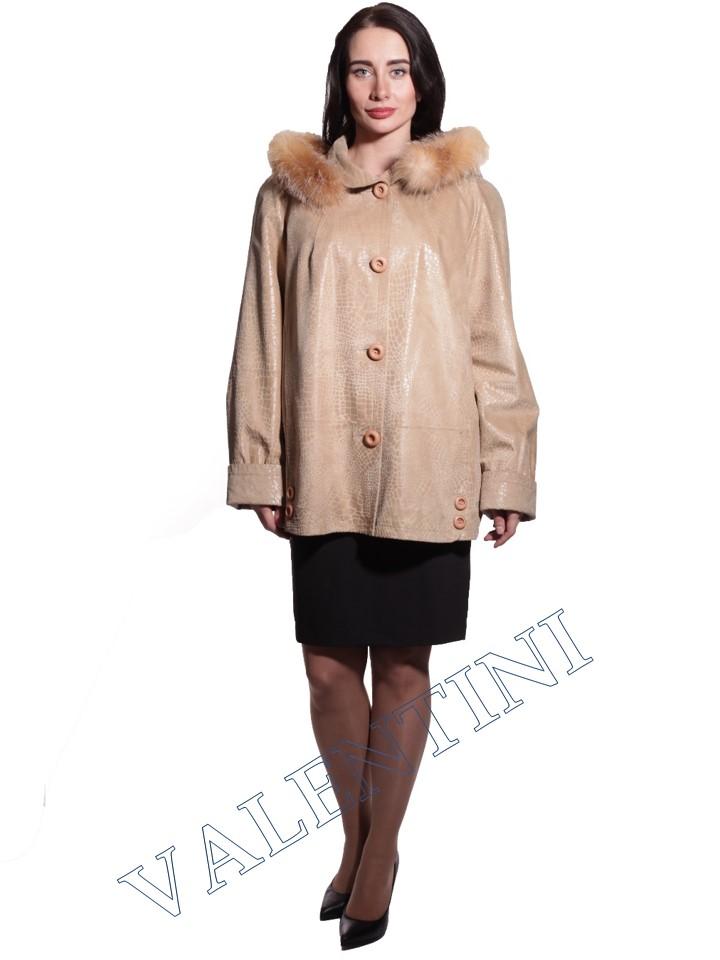Куртка кожаная STELLA DORO 3775 - 3