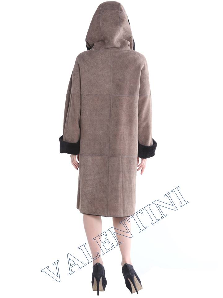 Женская дубленка VALENTINI мод.338-100-1 - 6