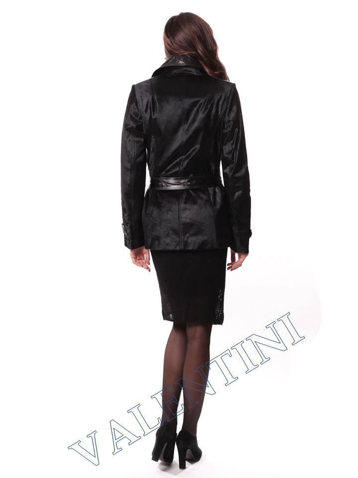 Кожаная куртка из теленка VALENTINI L-30-75 - 6