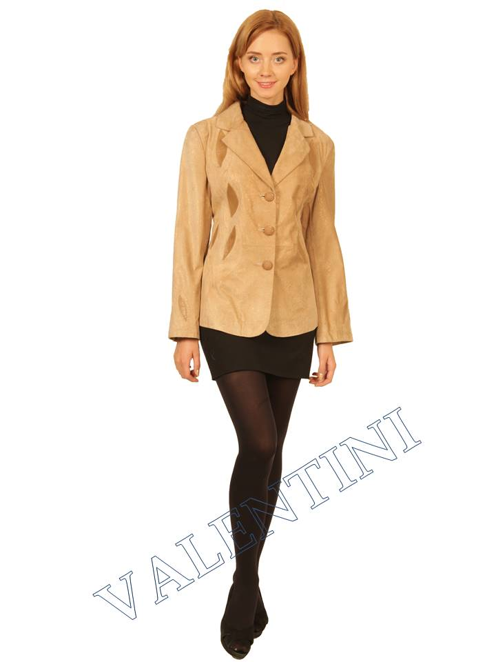 куртка кожаная STELLA DORO 2502  - 5