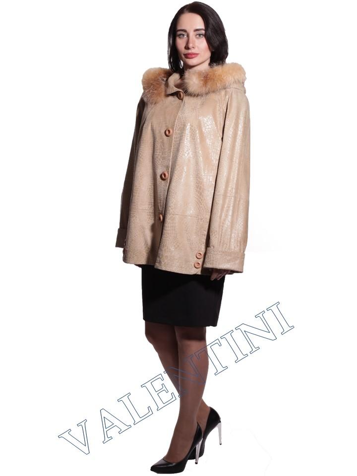 Куртка кожаная STELLA DORO 3775 - 4