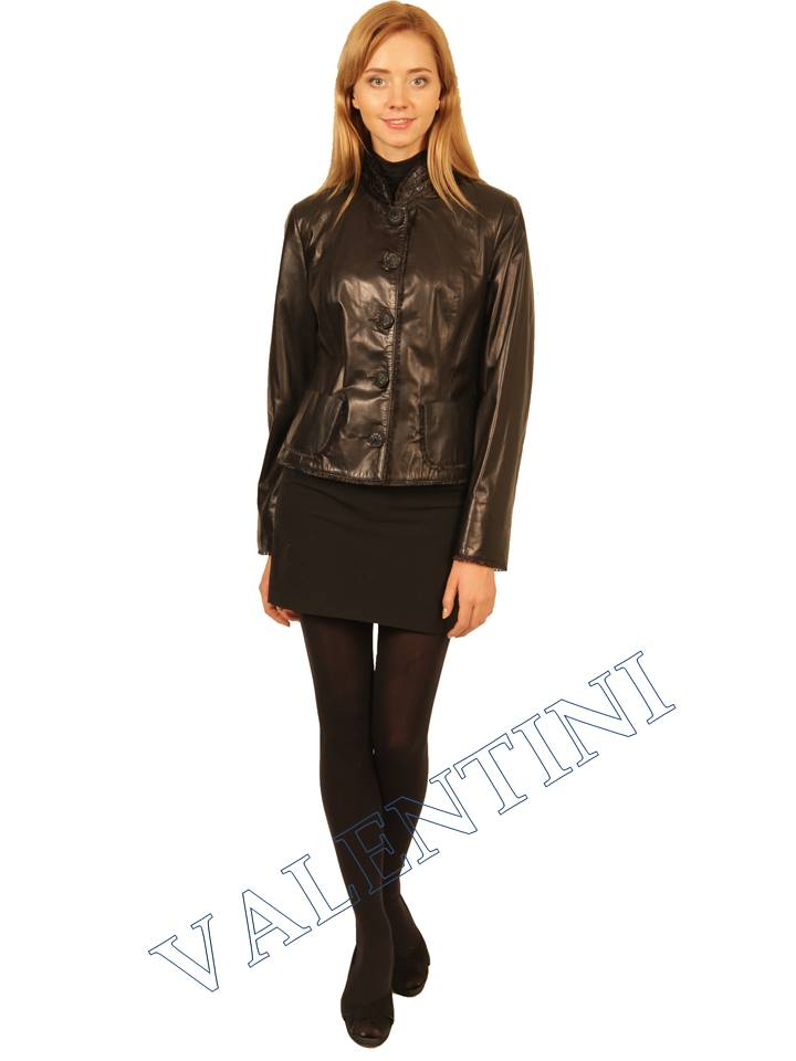 Куртка кожаная STELLA DORO 14042 - 3