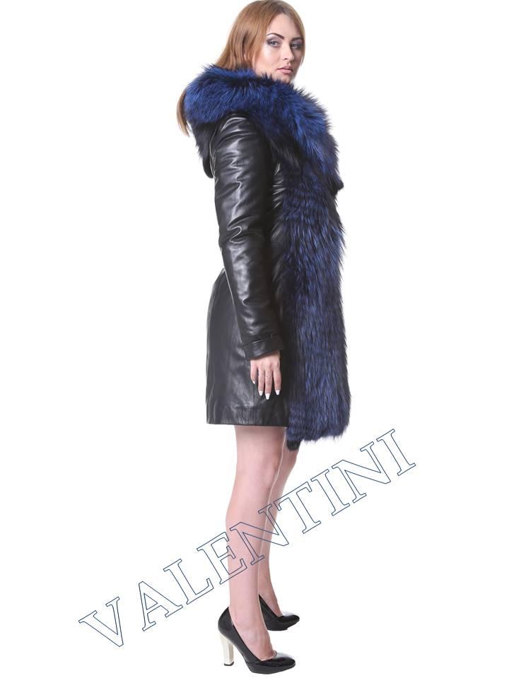 Кожаная куртка VALENTINI мод.2240 - 2