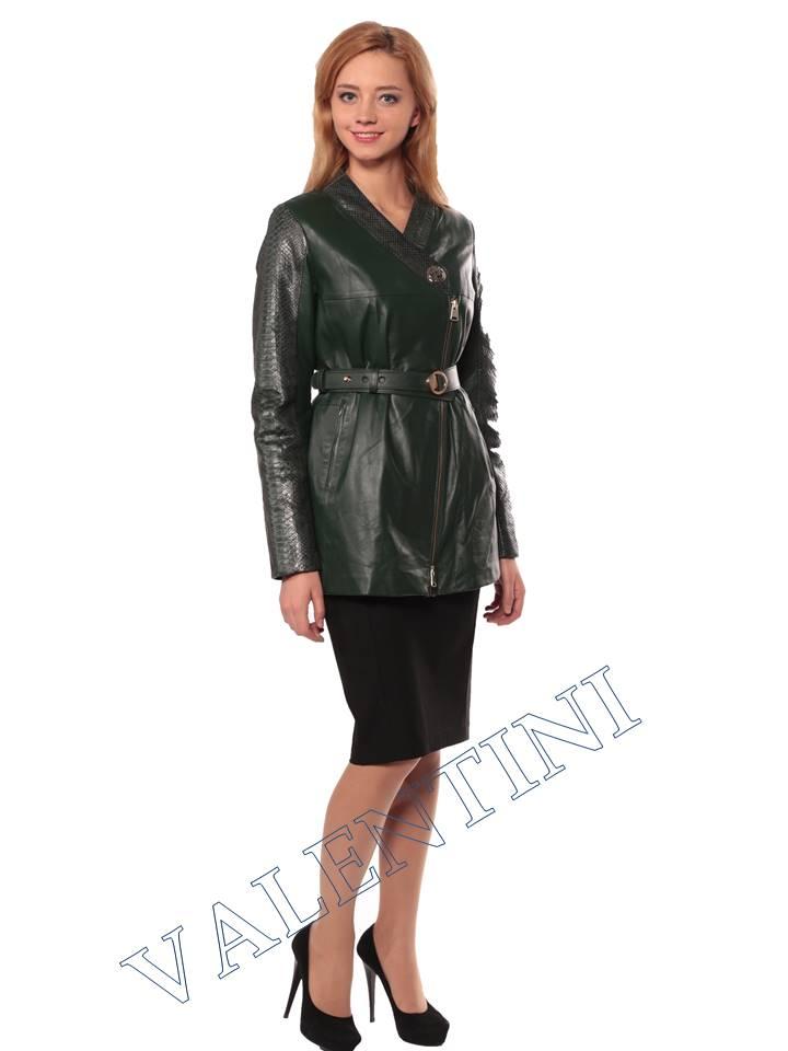 Женская кожаная куртка VALENTINI 2286 - 4