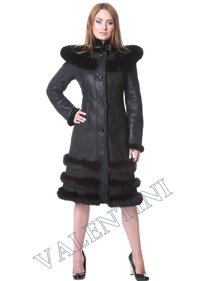 Женская дубленка VALENTINI мод. Senay - 1