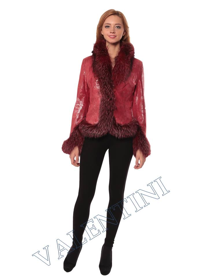 Женская кожаная куртка STELLA DORO 5354 - 5