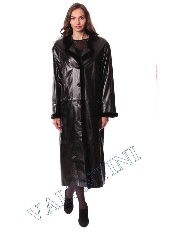Кожаное пальто GALOPPI 5054 - 5