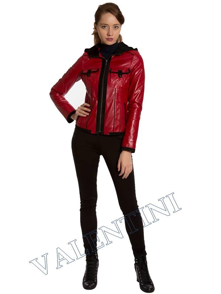 Кожаная куртка VALENTINI 2253 - 3