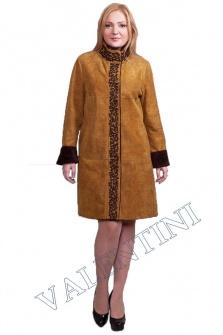 Дубленка в этническом стиле мод.366-90 – 1