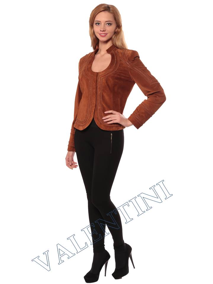 Женская кожаная куртка STELLA DORO 5756 - 2