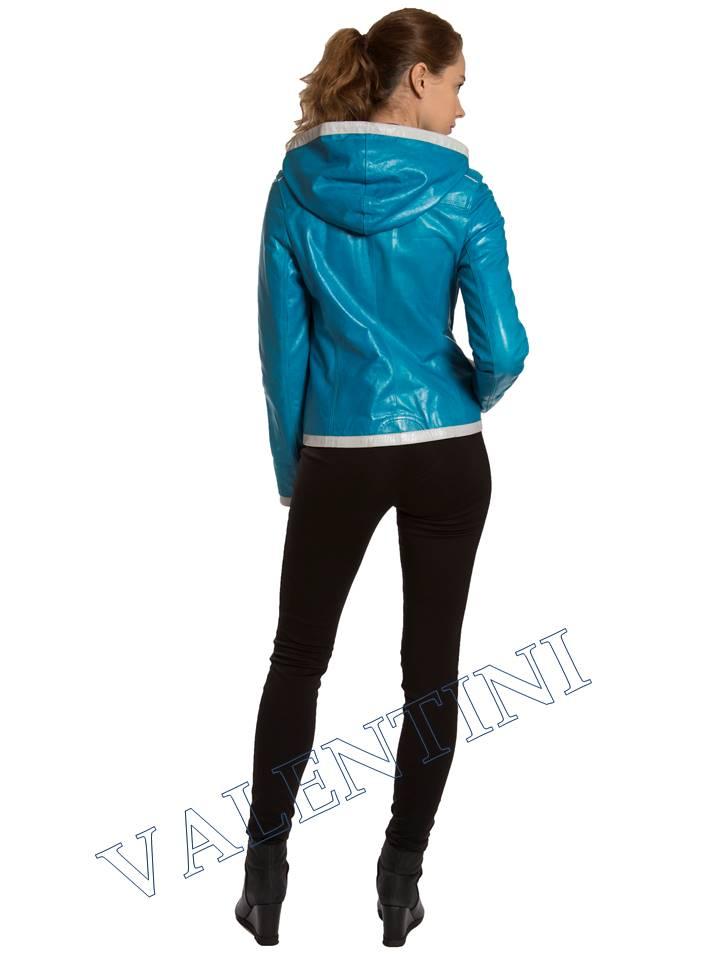 Кожаная куртка VALENTINI 2253-1 - 6
