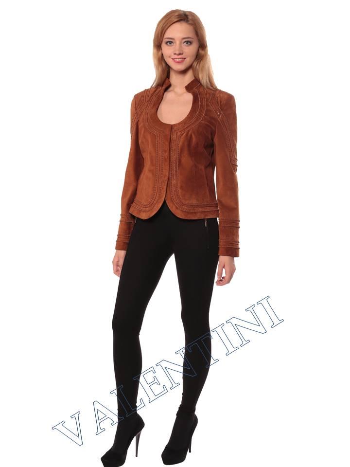 Женская кожаная куртка STELLA DORO 5756 - 3