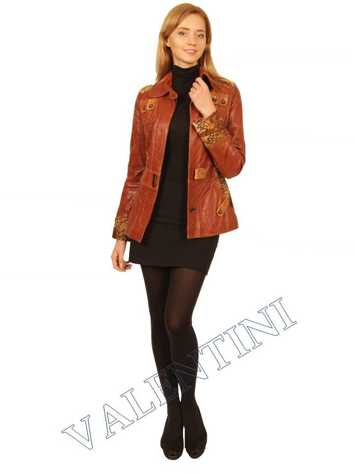 Куртка кожаная VALENTINI 2073 - 1