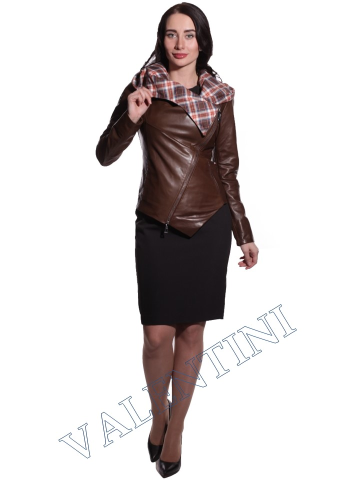 Куртка кожаная VALENTINI 016-105 - 3