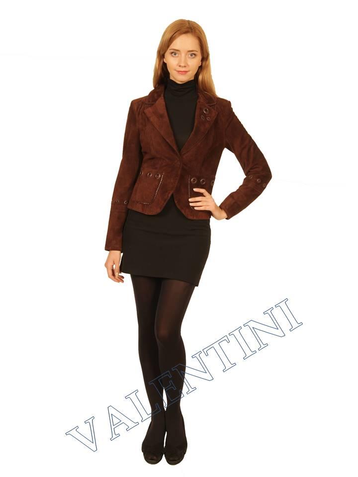 Куртка кожаная STELLA DORO 5433 - 4