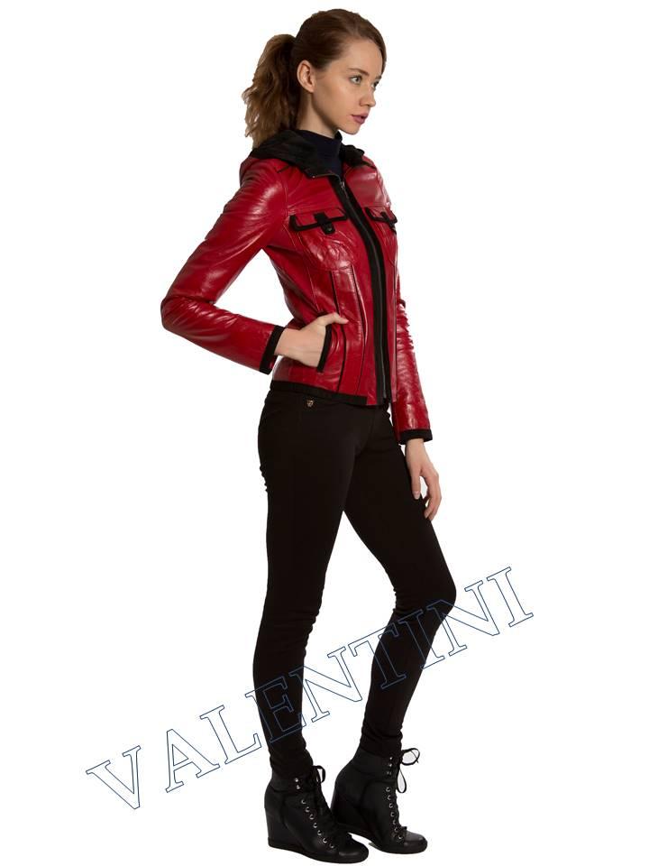 Кожаная куртка VALENTINI 2253 - 5