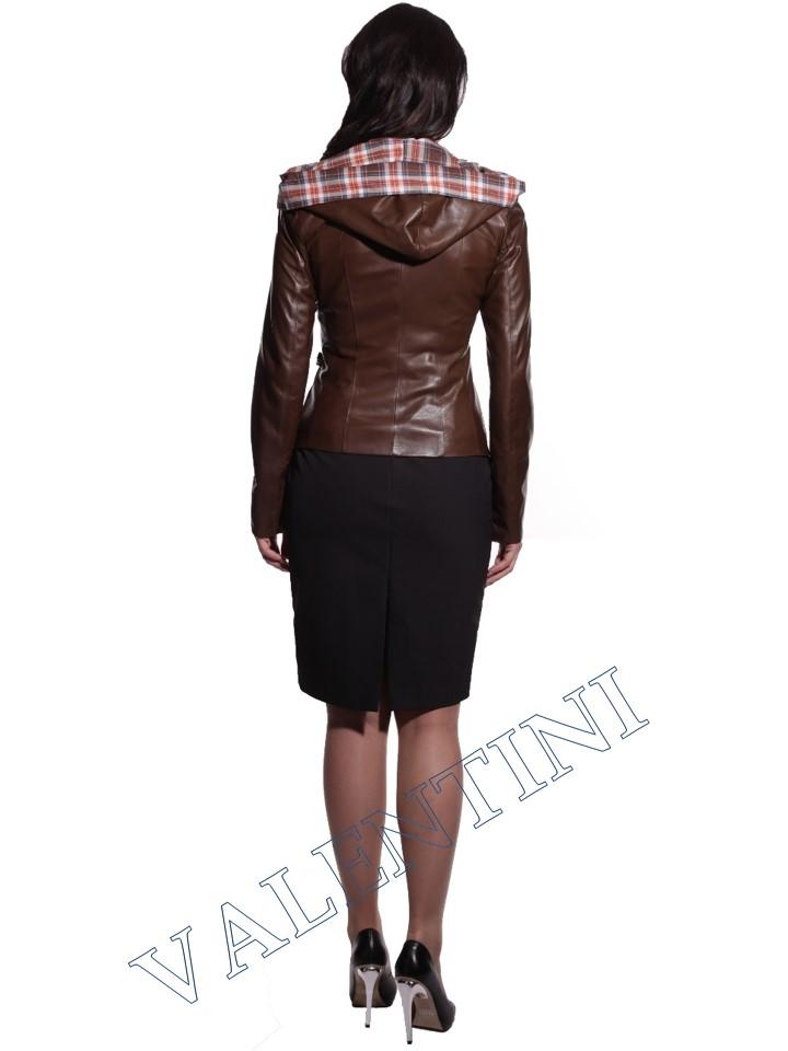 Куртка кожаная VALENTINI 016-105 - 6