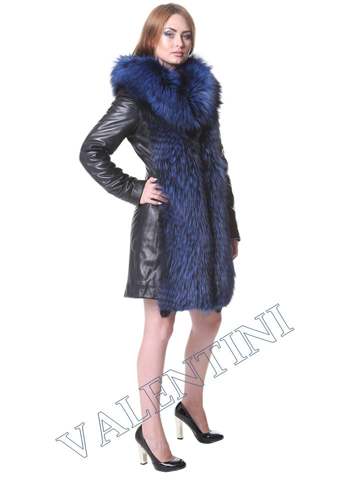 Кожаная куртка VALENTINI мод.2240 - 4