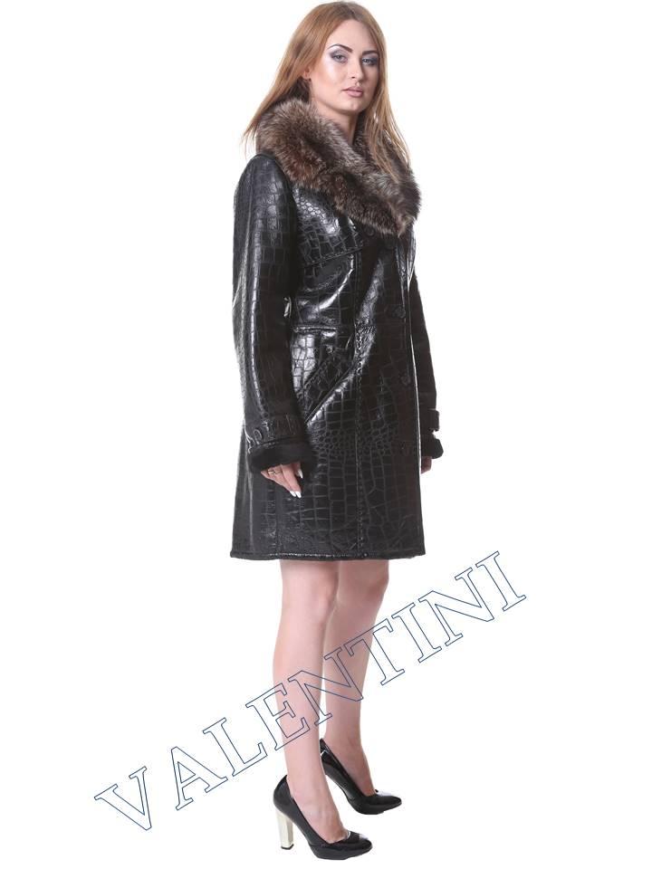 Женская дубленка VALENTINI мод.652 - 3