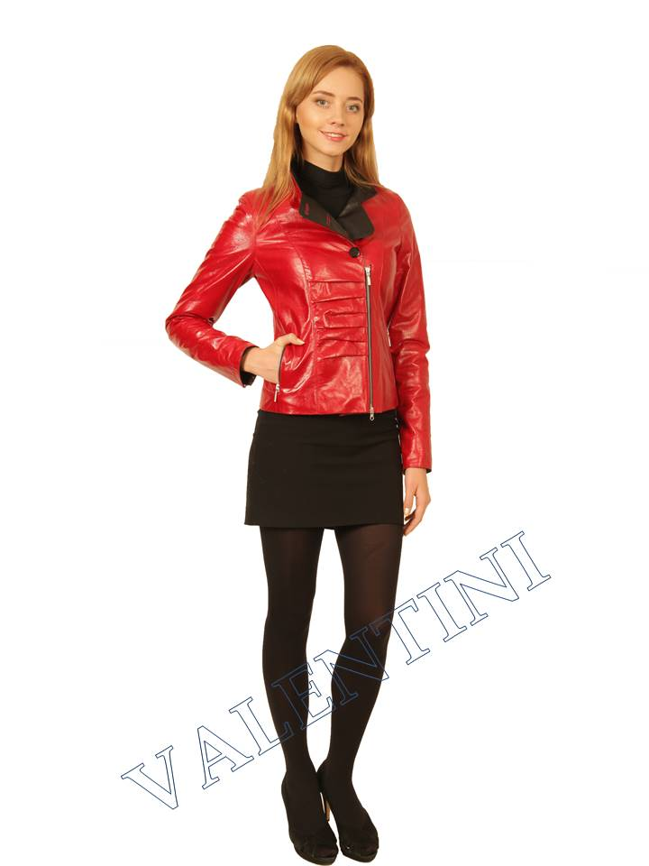 Куртка кожаная VALENTINI 2254 - 2