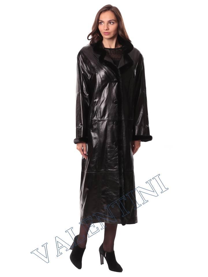Кожаное пальто GALOPPI 5054 - 3