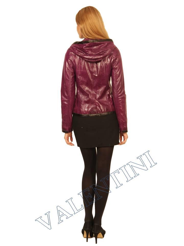 Куртка кожаная VALENTINI 2253 - 4