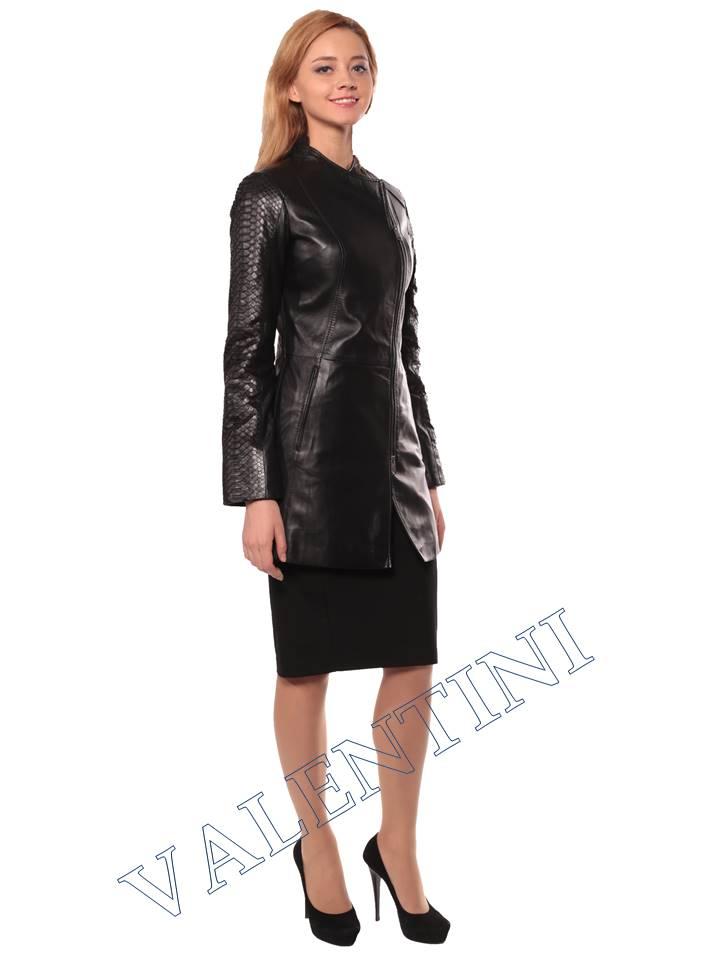 Женская кожаная куртка VALENTINI 2287 - 4