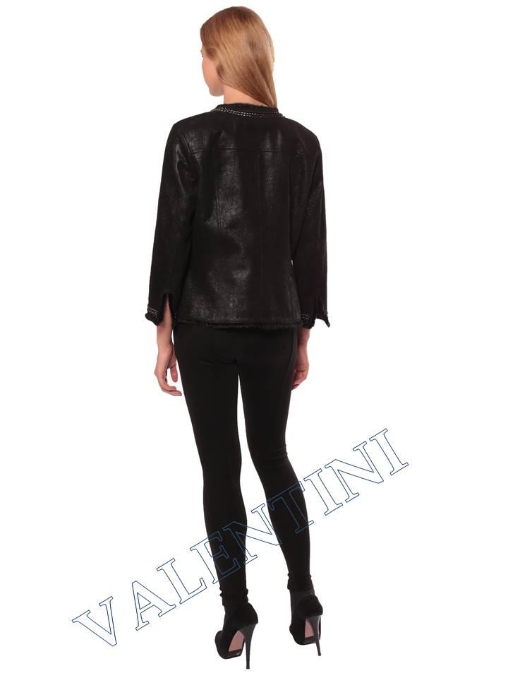 Женская кожаная куртка STELLA DORO 14255 - 6