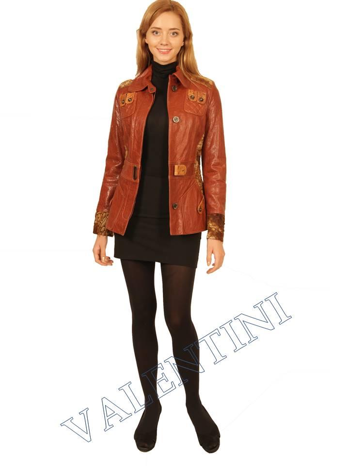 Куртка кожаная VALENTINI 2073 - 2