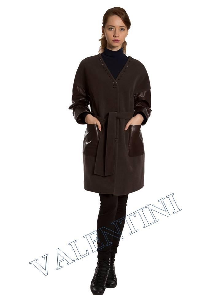 Кожаная куртка VALENTINI 017-124 - 7