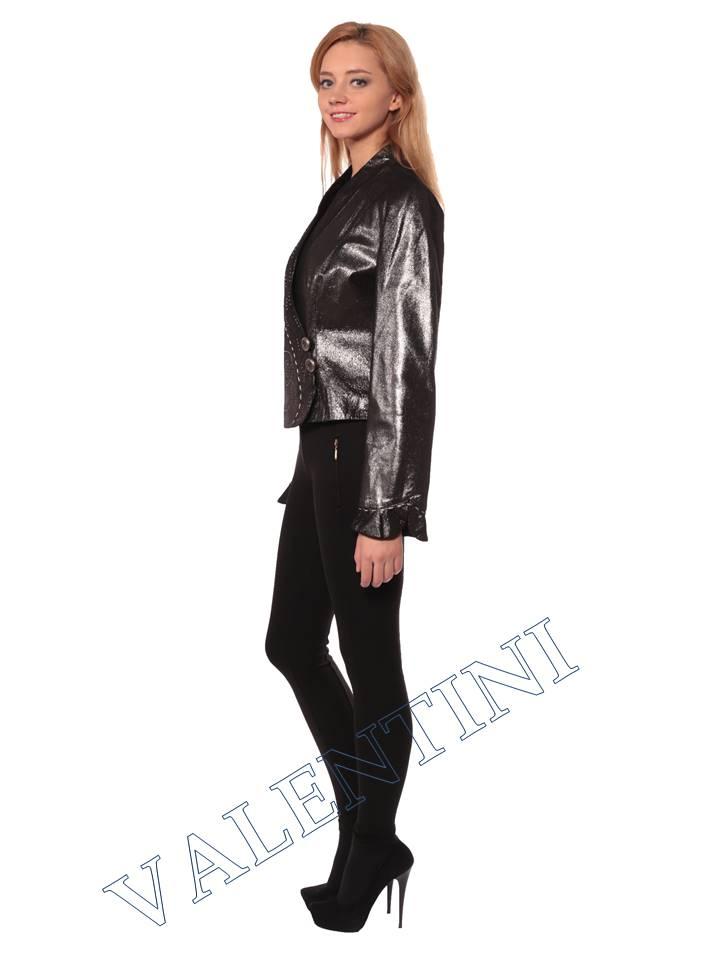 Женская кожаная куртка STELLA DORO 3113 - 4
