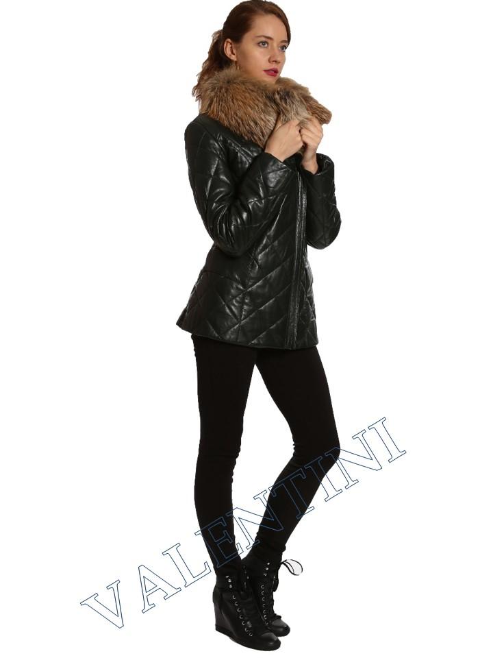 Кожаная куртка GALOPPI 5015-70 - 5