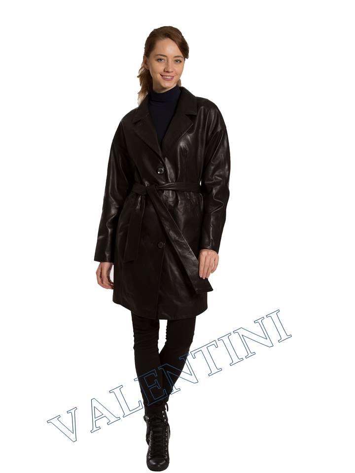 Кожаная куртка VALENTINI 017-120 - 1