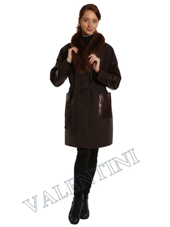 Кожаная куртка VALENTINI 017-124 - 3
