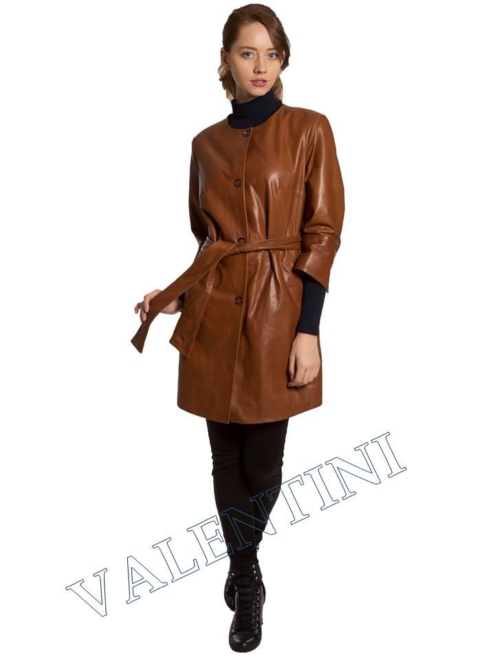 Кожаная куртка VALENTINI 017-117-1 - 3