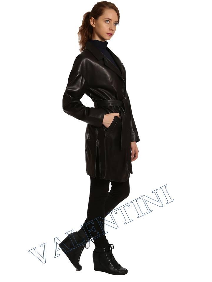 Кожаная куртка VALENTINI 017-120 - 5