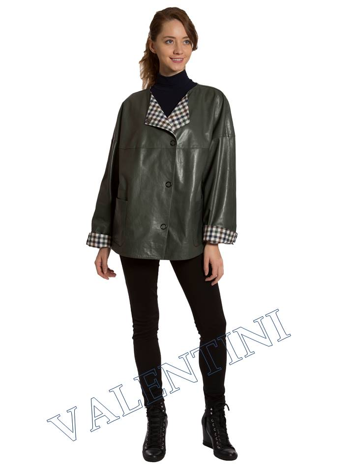 Кожаная куртка VALENTINI 017-116 - 2