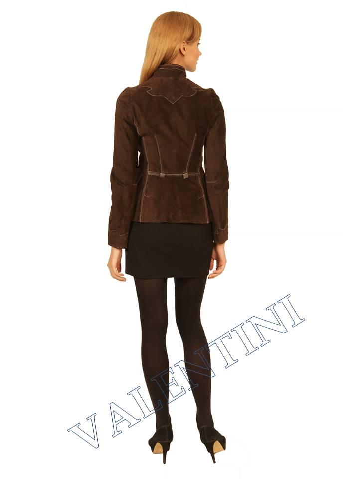 Куртка кожаная SUED MOD FLORELLA - 4