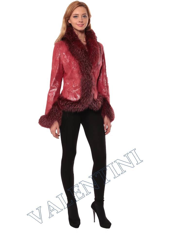 Женская кожаная куртка STELLA DORO 5354 - 2