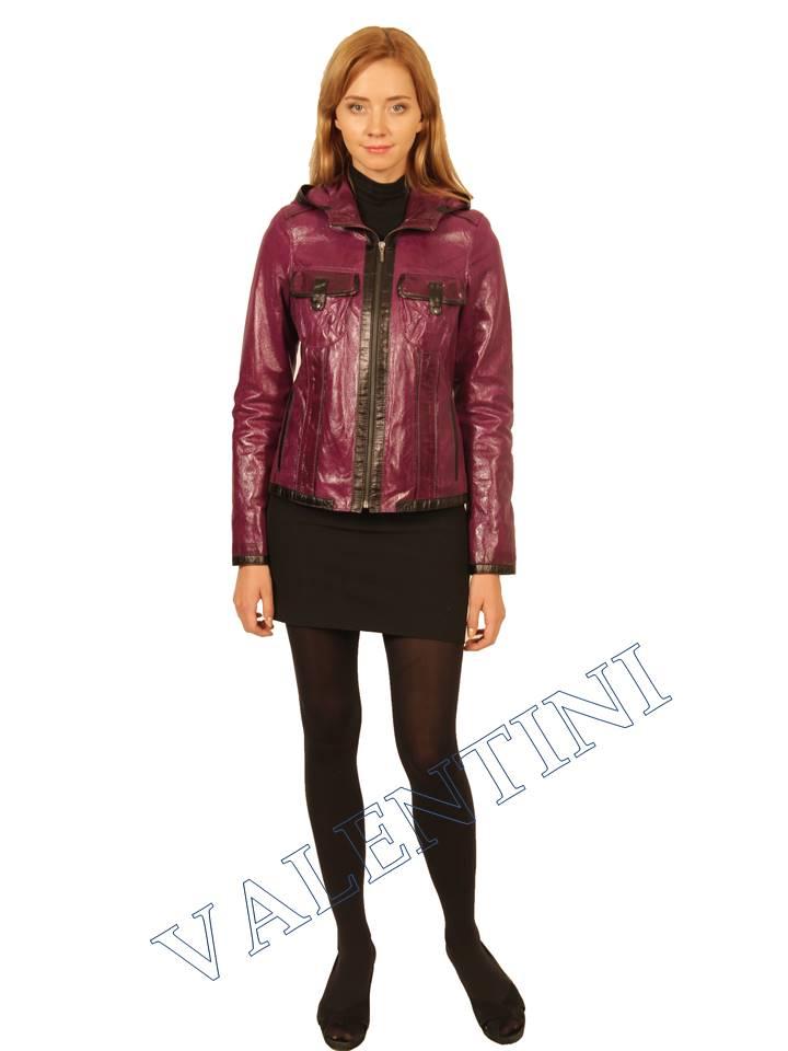 Куртка кожаная VALENTINI 2253 - 5