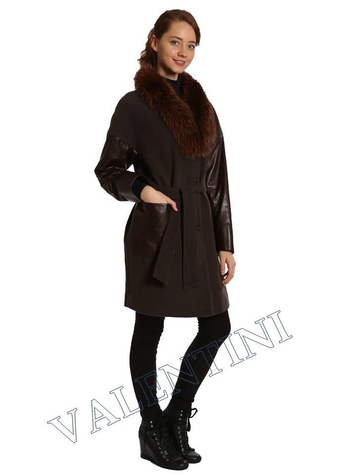 Кожаная куртка VALENTINI 017-124 - 4