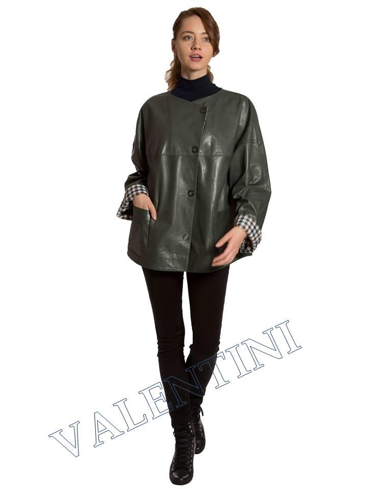 Кожаная куртка VALENTINI 017-116 - 3