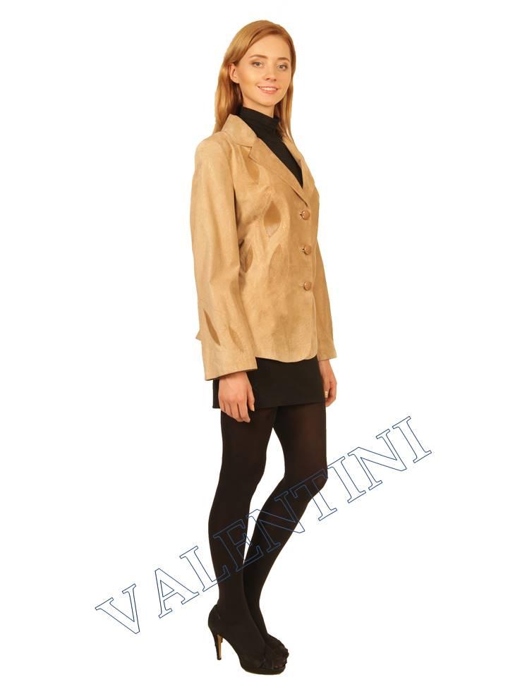 куртка кожаная STELLA DORO 2502  - 2